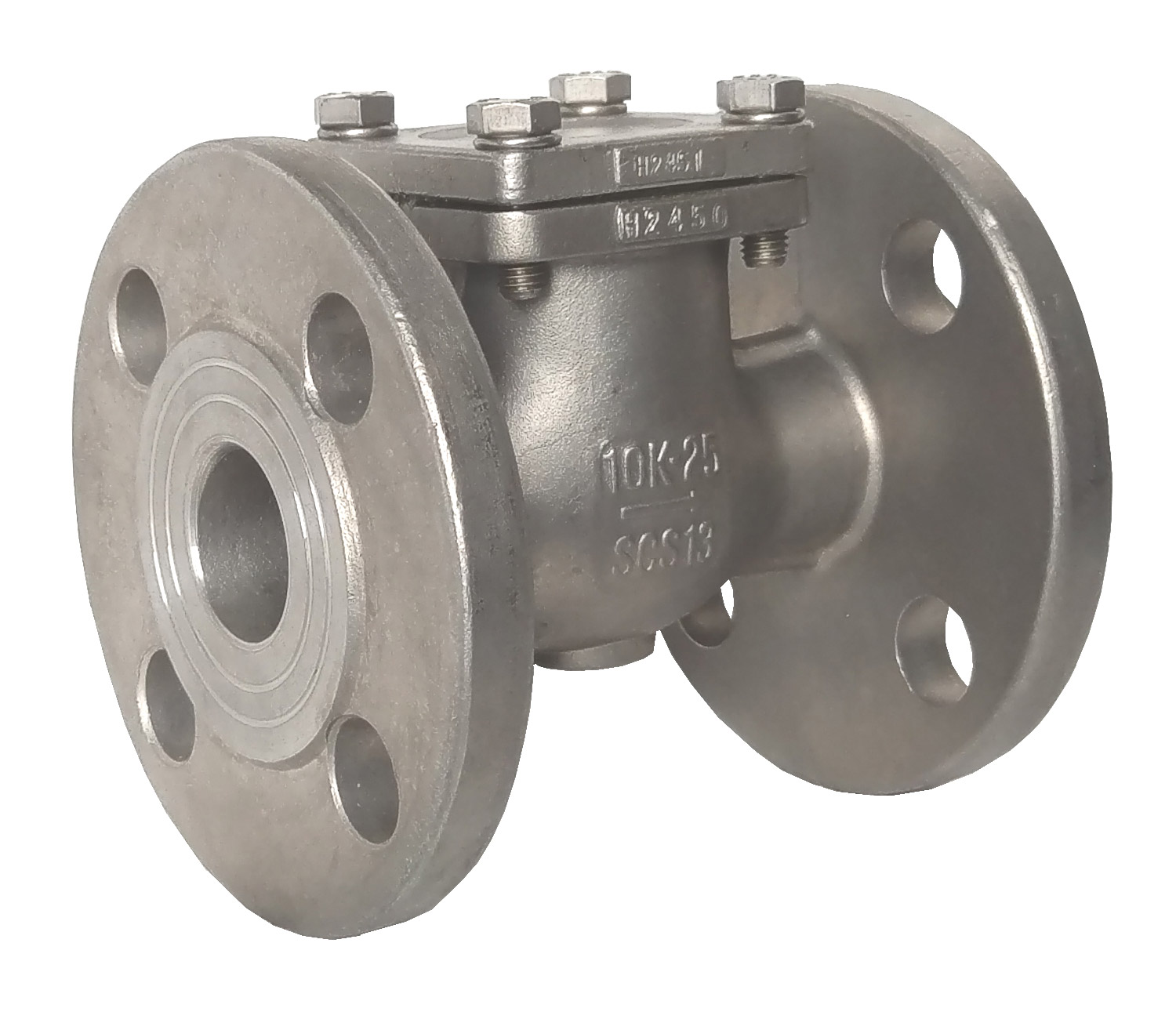 FLANGE END JIS 10K SWING CHECK VALVE