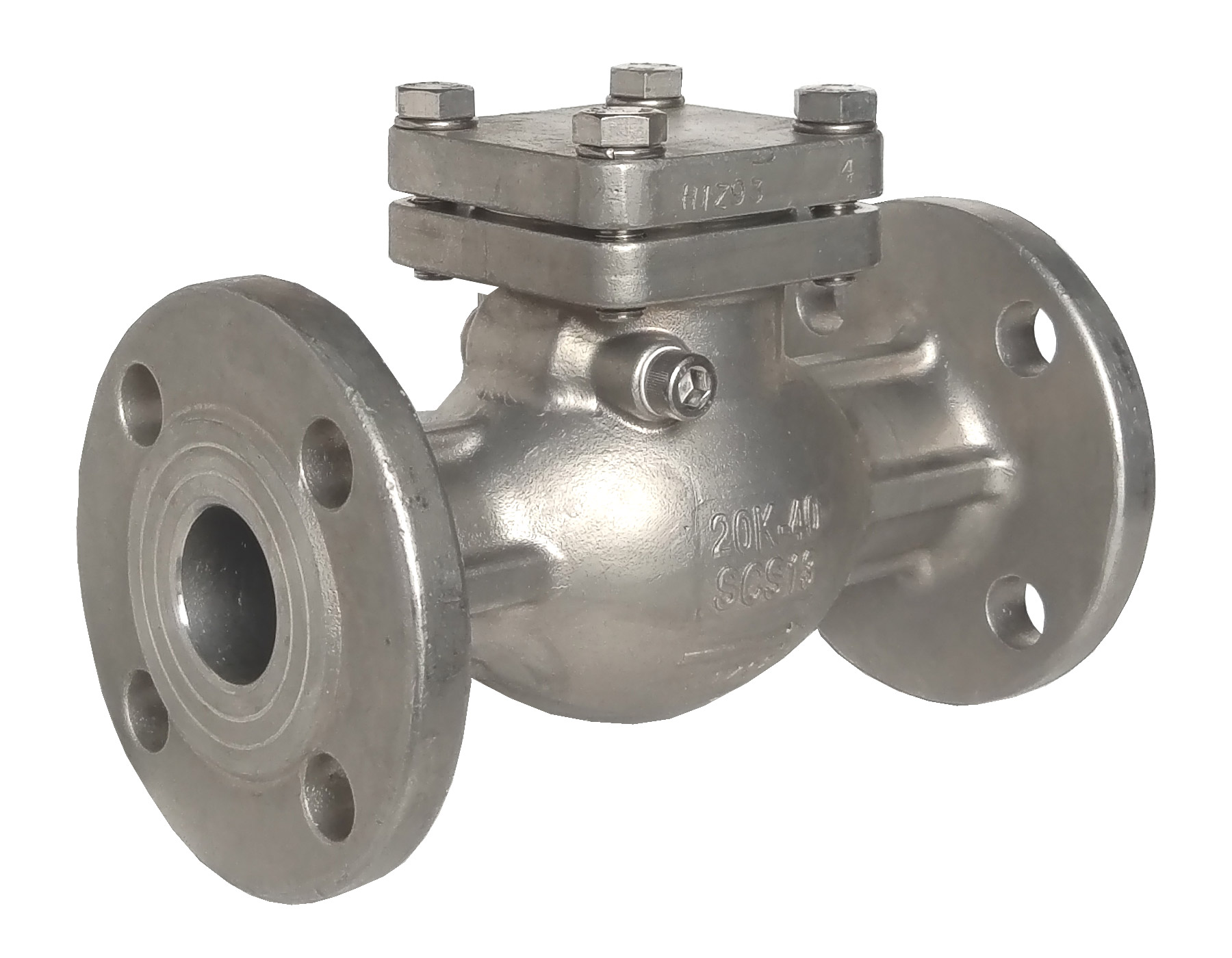 FLANGE END JIS 20K SWING CHECK VALVE