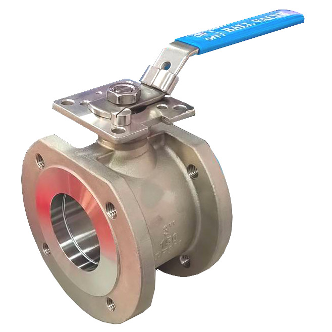 BA-1BH WAFER-TYPE-FLANGE-END-BALL-VALVE-CLASS-150