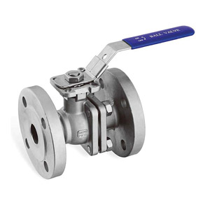 2-PC-BALL-VALVE-FLANGE-END-PN16-DIRECT-MOUNTING-PAD