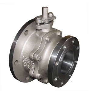 JIS-10K-Flange-Bottom-Ball-Valve-Taiwan-LungYun
