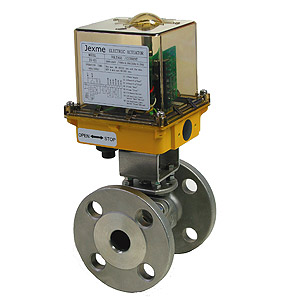 Electric Actuator With Flange End Ball Valve