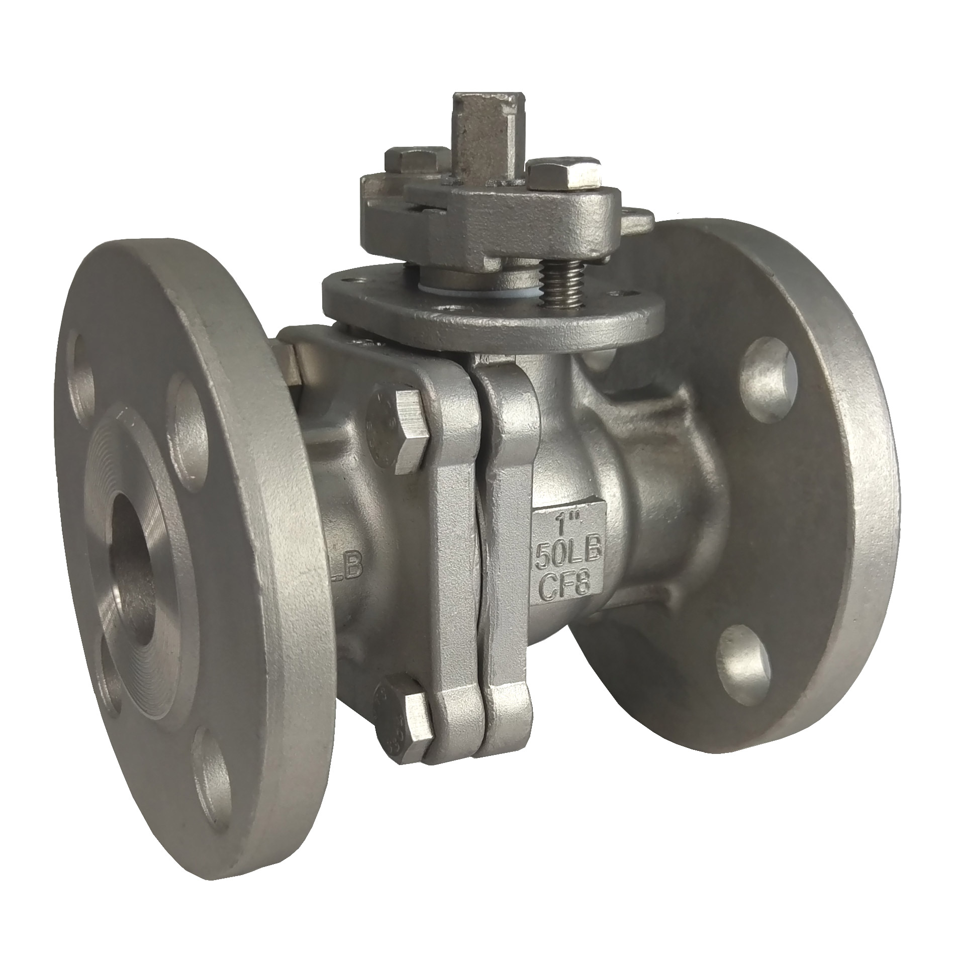 two-way-piece-full-port-flange-ansi-150lb-ball-valve