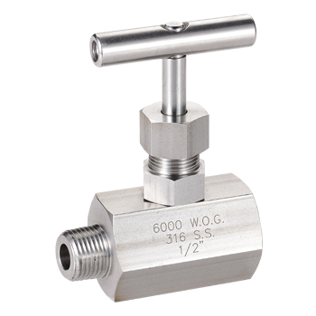 Needle Valve Male to Female End 6000 PSI