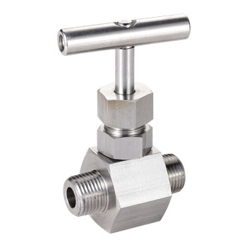 Needle Valve Male to Male End 6000 PSI